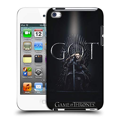 Head Case Designs Offizielle HBO Game of Thrones Jon Snow Season 8 for The Throne 1 Harte Rueckseiten Huelle kompatibel mit Apple iPod Touch 4G 4th Gen - Ipod Touch Apple 64gb Mp3-player