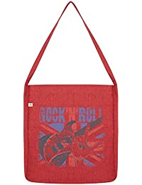 Twisted Envy Rock n Roll Union Jack Tasche