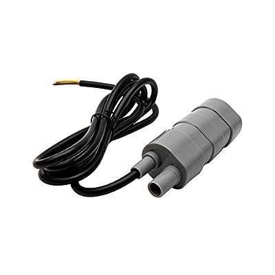 Henreal Pompes à Eau Submersibles 12V Pompes à Haut débit 840L / H pour Aquarium