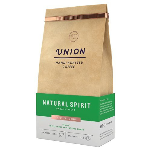 Union Hand Roasted Coffee Natural Spirit Ground Coffee, 200g 41Hj8fHg4EL