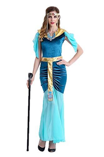 Frauen Sexy Cleo Griechische Göttin Prinzessin von Arabien Kostüme für Halloween Erwachsene Party Fancy Cosplay Kostüme ()