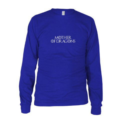 GoT: Mother of Dragons - Herren Langarm T-Shirt Blau