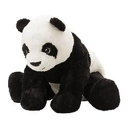 """IKEA Stofftier """"Kramig Panda"""" Plüschtier Panda-BÄR - 30cm großer Teddybär - sehr kuschelig - waschbar."""