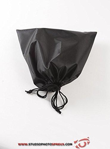 Compactor Set 2 Bolsas para Guardar Zapatos, Poliéster, Negro