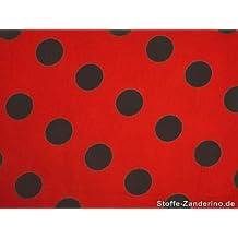 suchergebnis auf f r stoff rot schwarze punkte. Black Bedroom Furniture Sets. Home Design Ideas