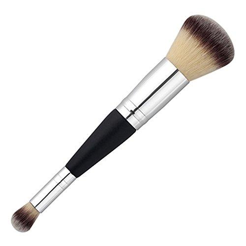 Bluelans à double extrémité Fard à paupières sourcils Fond de teint liquide Estompeur Pinceaux de maquillage