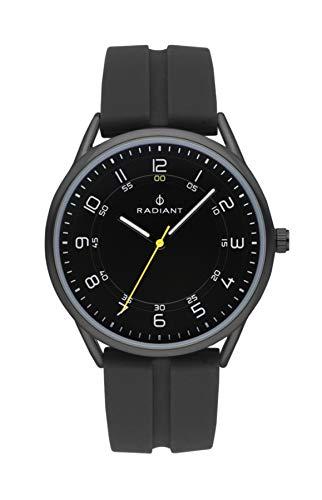 Radiant taycan orologio Uomo Analogico al Al quarzo con cinturino in Gomma RA517604