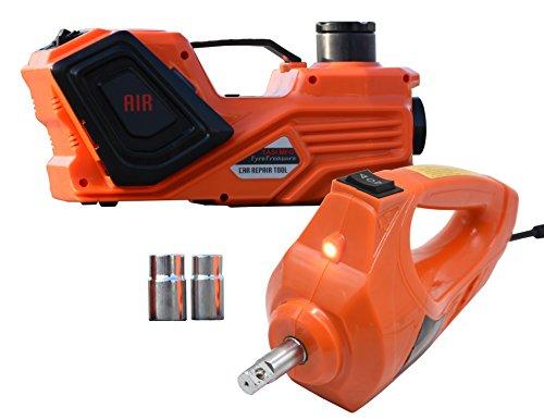 YASI MFG® 5 Tonne 45cm Elektrischer Hydraulischer Wagenheber hydraulisch Hydraulikheber für SUV und Auto