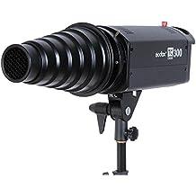 Godox SN-01Snoot Rejilla de panal universal Tubo de haz de luz para Studio Flash estroboscópico