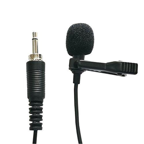 Threaded Plug (Samje Cardioid Tie Clip on Lavalier Microphone Mic for Various Wireless Transmitter Bodypack (3.5mm Mono Threaded Plug))