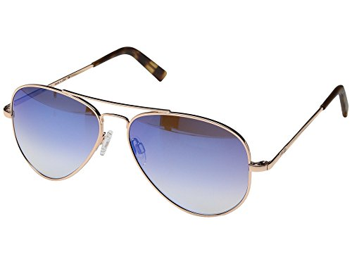 Randolph Engineering Herren Concorde 57 mm Sonnenbrille one size 23 K Rose Gold/Oasis Metallic Nylon Anti Reflektierende Objektiv