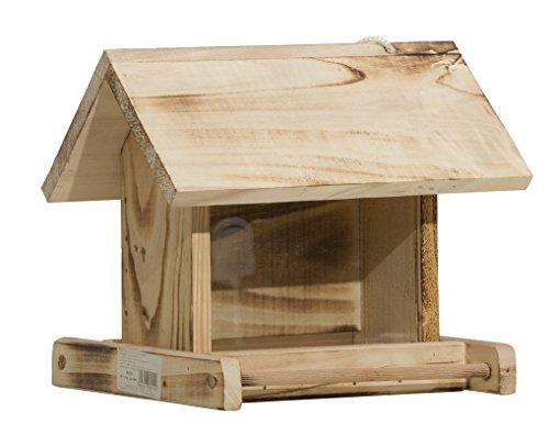 Windhager silo garden, mangiatoia, casetta, distributore di cibo per uccelli, 06911, naturale