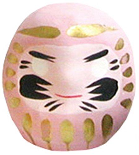 Miniatur Daruma Puppe (Japanische Glücksbringer Charm), rose (Miniatur-rosen)