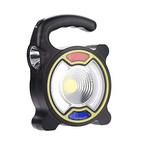 WMM - Camping light Ultra Bright COB Portable Solarenergiezeltlicht - Die LED Campinglaterne - Große Lampe für Wandern, Camping, Sonnenschirm, Auto und Ausfälle