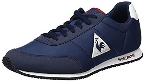 Le Coq Sportif Racerone - Sneakers Basses Mixte Adulte - Bleu (Dress Blue/Rouge Ruby Wine) - 42 EU