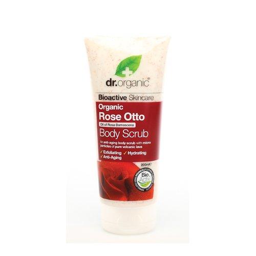 Dr.Organic Rose Otto Body Scrub 6.8 oz by Dr.Organic Rose Otto Body Scrub 6.8 oz (Rose Body Scrub)