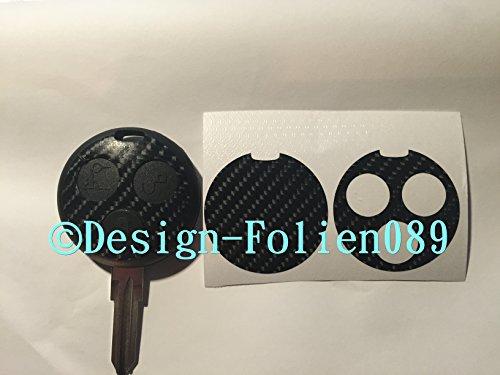 carbon-film-decor-noir-brillant-4d-cle-key-smart-fortwo-450-brabus-amg-cabriolet-coupe