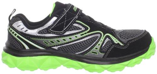 Skechers Mighty FlexHustle 95261L Jungen Sneaker Schwarz (Bklm)