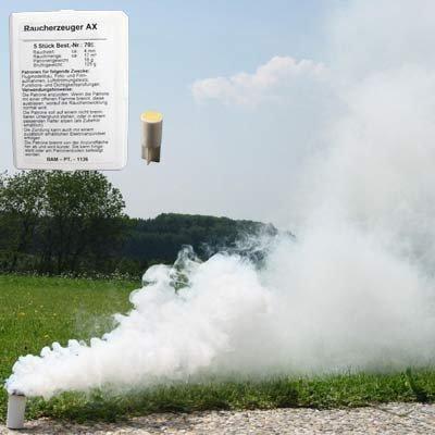Björnax AB Rauchpatronen AX-3 weiss 10 Stück