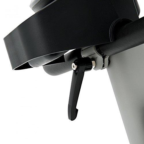 Spirit Upright Bike DBU 40 – Heimtrainer, Fitness Indoor Bike, Ergometer mit Hand-Puls-Sensoren - 6