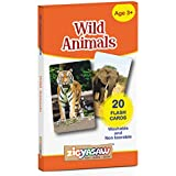 Zigyasaw Wild Animals Flash Cards