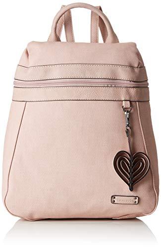 Tamaris Damen Adina Backpack Rucksackhandtasche, Pink (Rose Comb.) 8.5x29x40 cm