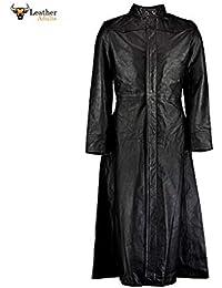 Leather Adults - Abrigo - Gabardina - para Mujer