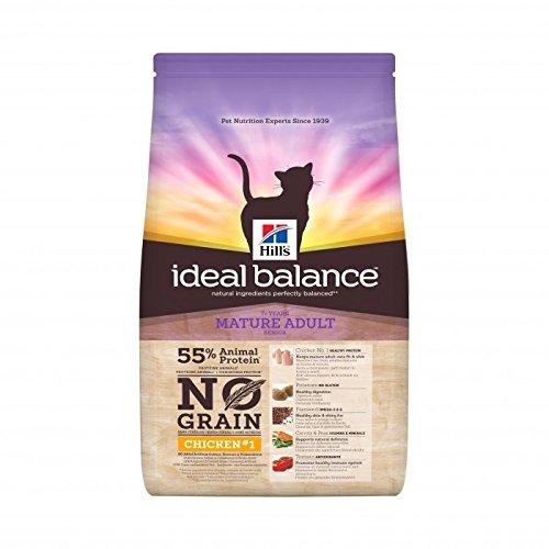 hill' S–Kroketten ideal Balance No Grain Mature im Huhn für Katzen–1,5kg (Huhn Balance)