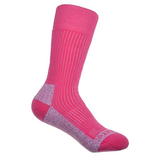 41HjKXvSYqL. SS500  - 2 Pairs of Thick Cotton Coolmax Ladies Socks Ladies Medium 4-7