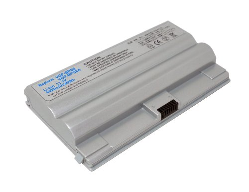 PowerSmart® 11.1V 4400mAh Li-ion Batterie pour Sony VAIO VGN-FZ21E, VGN-FZ21J, VGN-FZ21M, VGN-FZ21S, VGN-FZ21Z, VGN-FZ220U, VGN-FZ220U/B, VGN-FZ25, VGN-FZ250E/B, VGN-FZ25G, VGN-FZ25GN, VGN-FZ25S, VGN-FZ27, VGN-FZ27G, VGN-FZ28, VGN-FZ280E/B, VGN-FZ28G, VGN-FZ290, VGN-FZ290EAB, VGN-FZ290EBB, VGN-FZ290EBW