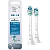 Philips HX9022/10 - Pack con 2 cabezales para control de la placa para cepillos Sonicare
