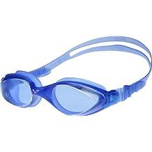 Arena Schwimmbrille Fluid Small - Gafas de natación ( infantil, mujer, protección uv, panorama, tamaño único, pequeño, para jóvenes ) , color azul, talla Talla única