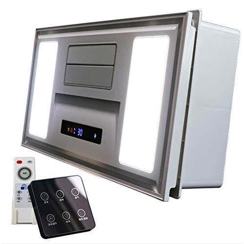 Calentadores De Espacio Yuba Hogar Calefacción Y Ventilador De Baño Calefactor Impermeable...