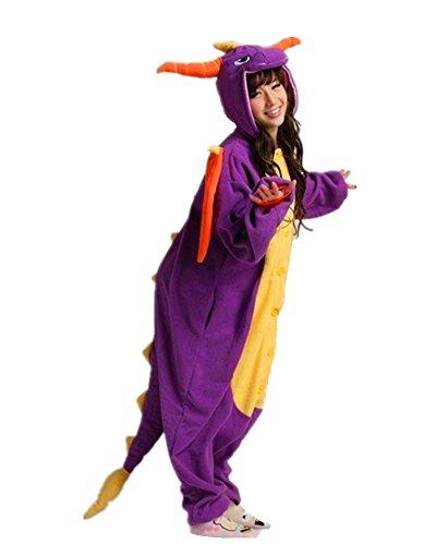 DAYAN - Pyjama animal, Kigurumi Onesie Dragon - Pyjama Suit Taille L