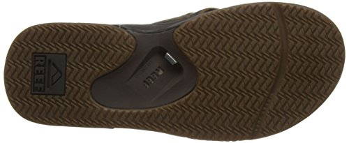 Reef Fanning Ultimate, Flip-Flop Homme Marron (Brown/Dark Brow)