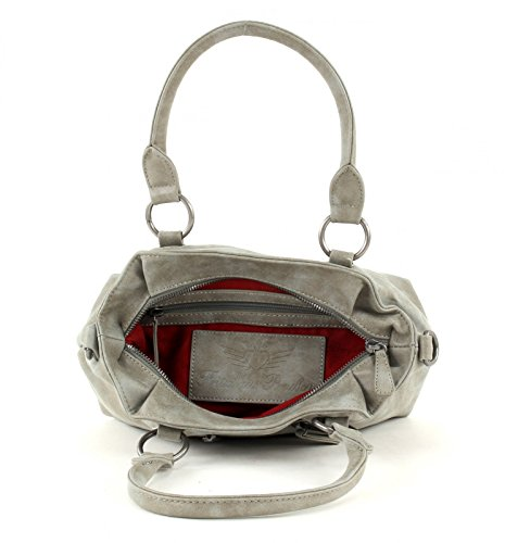 Fritzi aus Preußen Luisa Vintage Handtasche 34 cm metal1