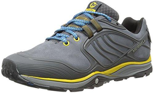 Merrell Verterra Waterproof, Chaussures de randonnée montantes homme Castle Rock / Yellow