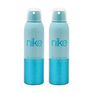 Nike Up or Down Deodorant for Women, 200ml (Pack of 2)