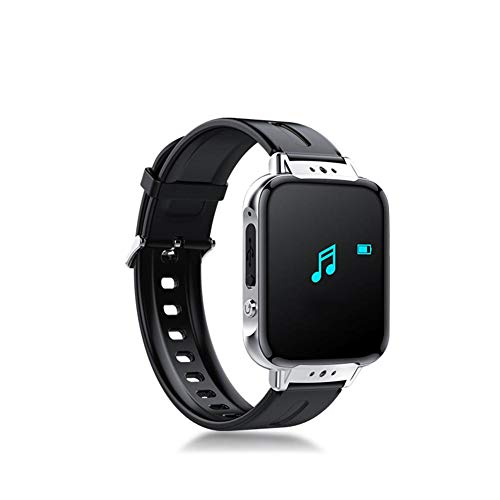 Prom-near MP3 Player Armband 8GB Bluetooth Fitness Tracker mit Diktiergerät Aufnahmegerät Schrittzähler für Sports, Gespräche, Vortrag, Konversation, Interview