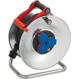 Brennenstuhl Kabeltrommel Garant S IP44 3-fach 25m H07RN-F 3G2,5 Kabelfarbe schwarz