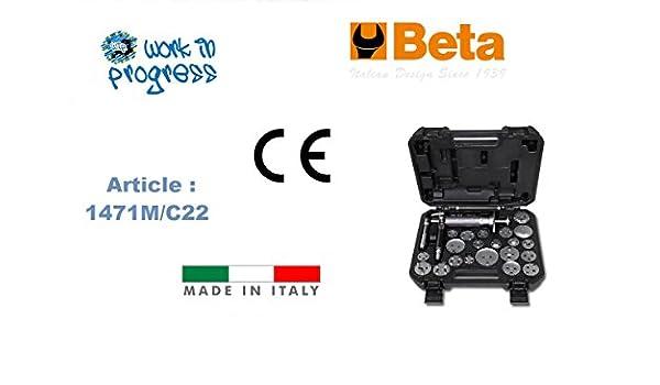 Arretratore pistoncini BETA 1471M//C22 pneumatico destroso e sinistroso accessori