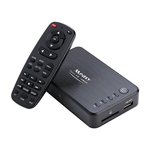 Zerone 1080p HD Multimedia HDD Player, USB- und SD-Kartenerweiterung Blue-Ray Disc & 3D Me