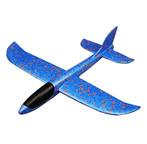 (Simulation werfen Flugzeug Spielzeug Eltern-Kind Outdoor-Sport Spielzeug-Blau)
