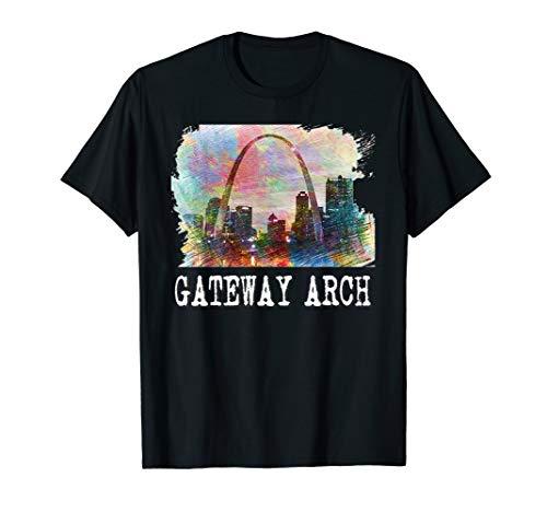 Gateway Arch St Louis T Shirt Tee T Shirt tShirt T-Shirt -