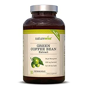Green Coffee Bean Extract (180 Capsules)