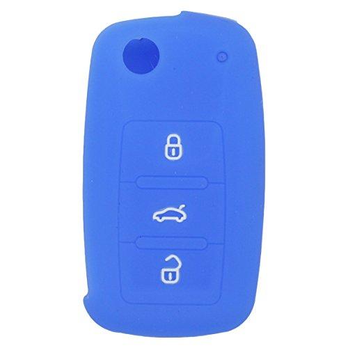 fassport-silicone-cover-skin-jacket-for-volkswagen-skoda-seat-3-button-flip-remote-key-cv2801-deep-b