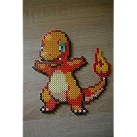 Sprite Salamèche - pokemon - Hama Beads - Pixel art
