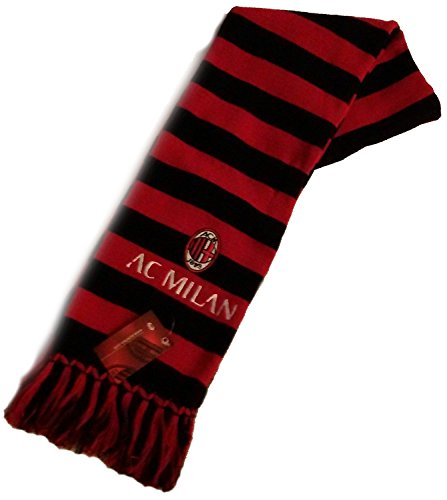 Bufanda oficial A.C. Milan doble, tubular – Bufanda oficial