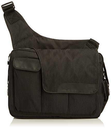 diaper-dude-pinstripe-messenger-ii-bag-schwarz