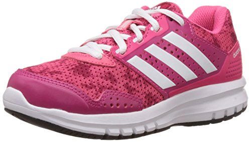adidas Unisex Duramo 7 K Super Pink, White and Bold Pink Mesh Sneakers  - 11 kids UK/India (29 EU)